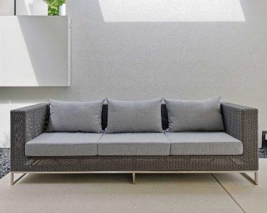 Outdoor Sofa Wetterfest Wohnzimmer Lounge Sofa Outdoor Wetterfest Couch Ikea Stern Gartensofa Loungesofa 3 Sitzer Fontana Geflecht Basaltgrau Mit Schlaffunktion Dauerschläfer Küche Kaufen