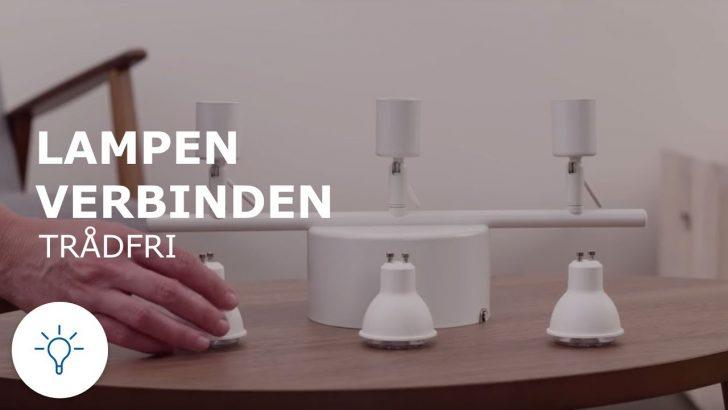Medium Size of Ikea Tradfri Trdfri Mehrere Lampen Hinzufgen Youtube Küche Kosten Wohnzimmer Deckenlampen Betten 160x200 Designer Esstisch Badezimmer Bei Sofa Mit Wohnzimmer Ikea Lampen