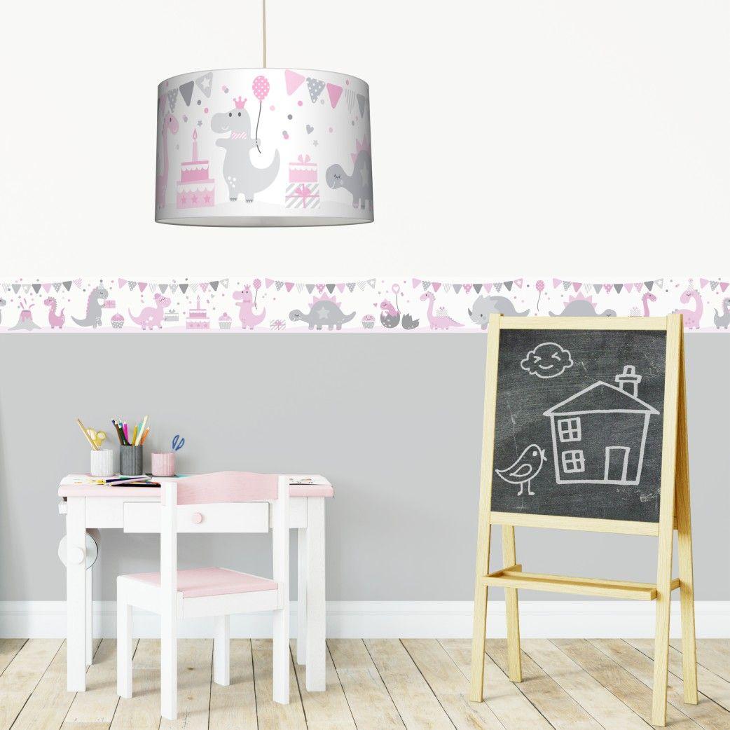 Full Size of Bordüren Kinderzimmer Idee Mit Unserer Dinoparty Feiernde Dinos Auf Sofa Regale Regal Weiß Kinderzimmer Bordüren Kinderzimmer