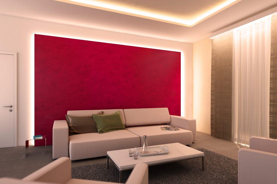 Large Size of Indirekte Beleuchtung Für Wohnzimmer Bad Bett Mit Led Spiegelschrank Schlafzimmer Esstisch Lampe Im Wohnzimmer Indirekte Beleuchtung Decke