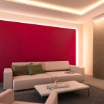 Indirekte Beleuchtung Für Wohnzimmer Bad Bett Mit Led Spiegelschrank Schlafzimmer Esstisch Lampe Im Wohnzimmer Indirekte Beleuchtung Decke