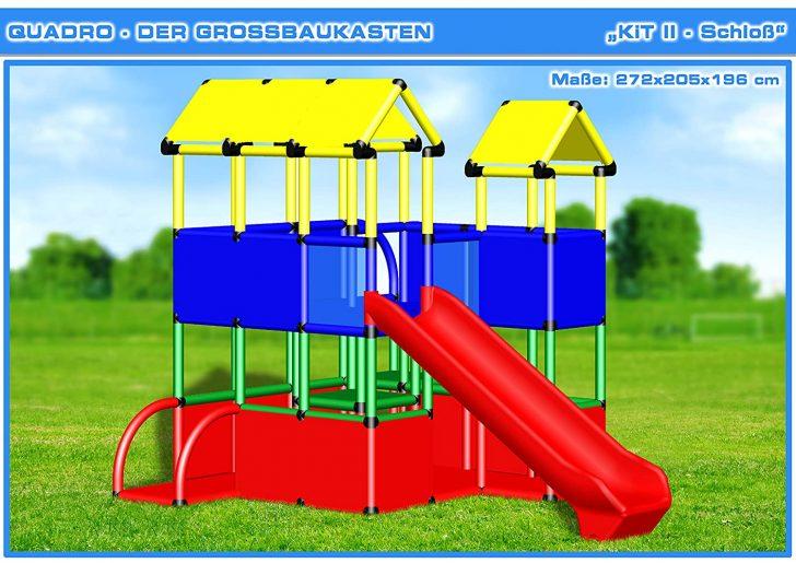Medium Size of Quadro Kit Ii Klettergerst Kletterturm Spielturm Amazonde Klettergerüst Garten Wohnzimmer Quadro Klettergerüst