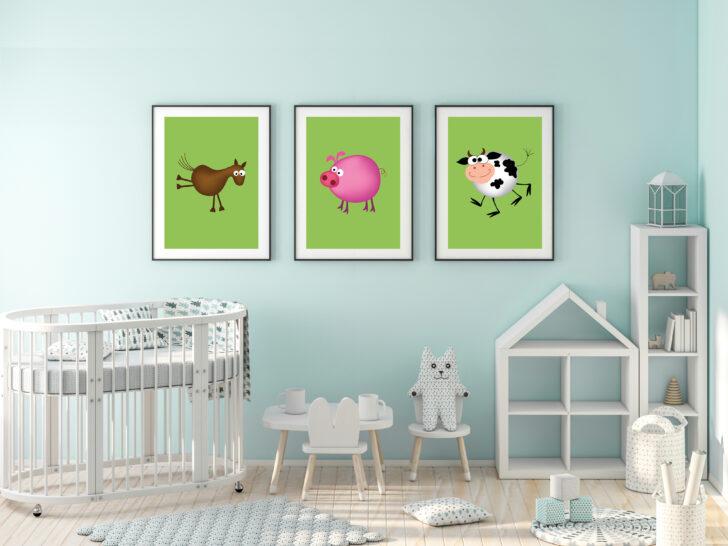 Medium Size of Mbel Wohnen Dekoration Kuh Pferd Schwein Bauernhof Tiere Set Regal Kinderzimmer Weiß Regale Sofa Kinderzimmer Kinderzimmer Pferd