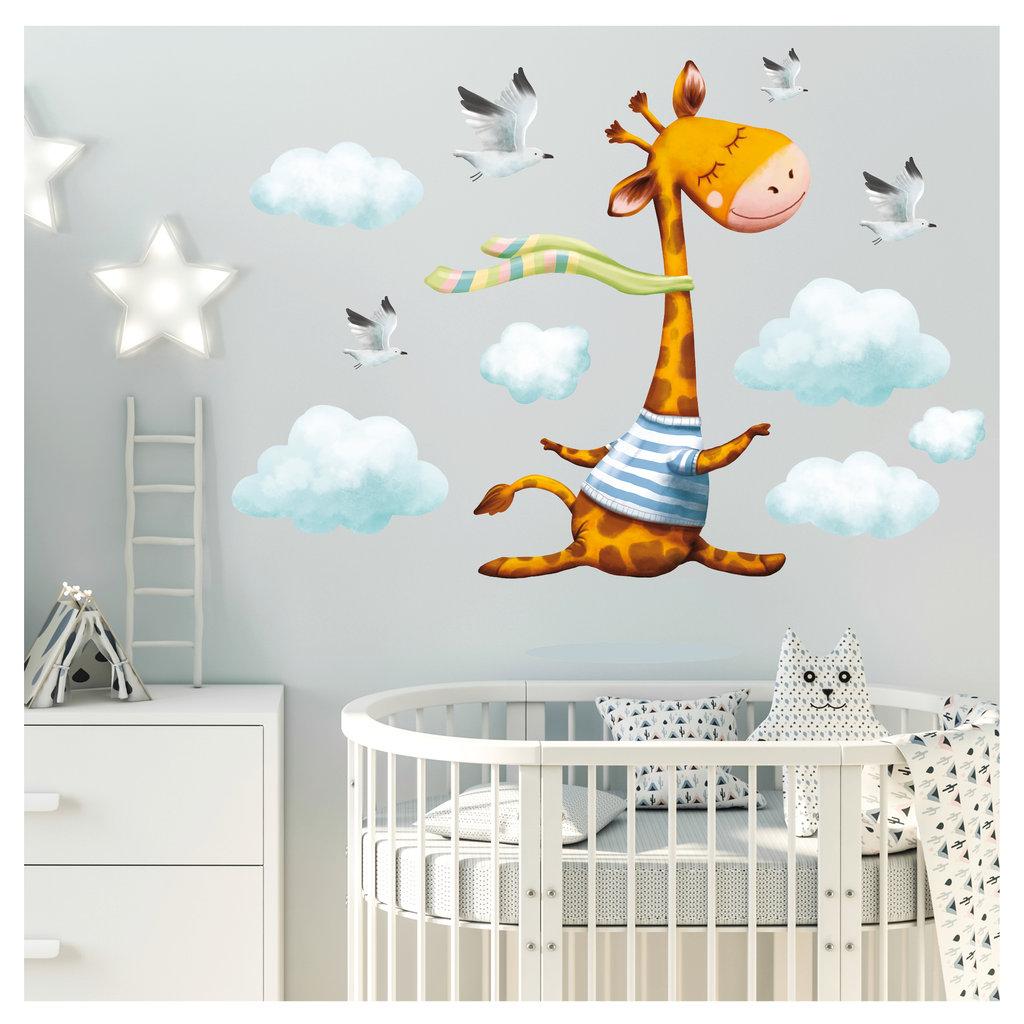 Full Size of Wandbild Kinderzimmer Wandtattoo Giraffe Wolken Wanddeko Regal Regale Sofa Wandbilder Schlafzimmer Wohnzimmer Weiß Kinderzimmer Wandbild Kinderzimmer