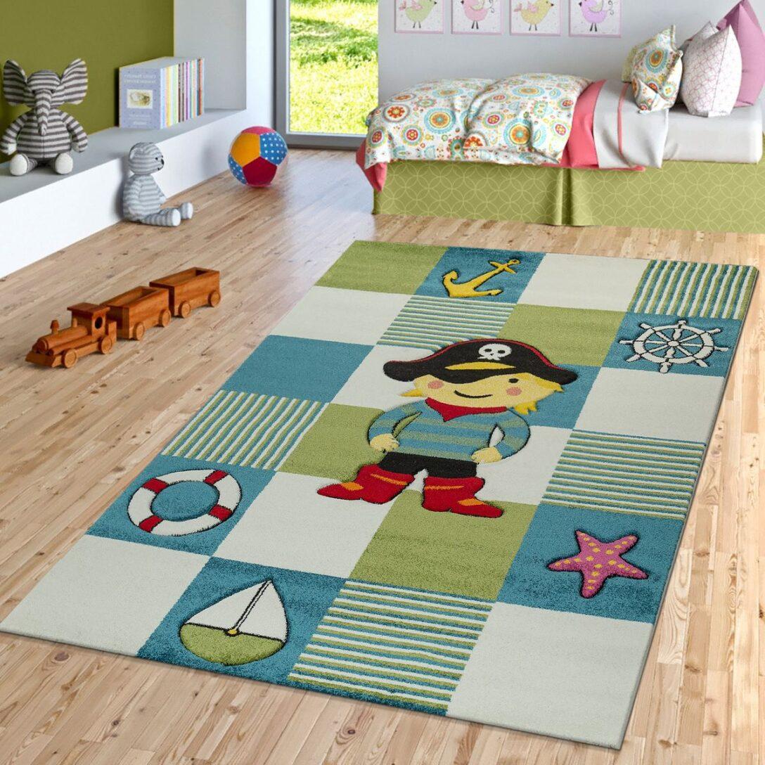 Large Size of Piraten Kinderzimmer Teppich Look Blau Grn Teppichmax Regal Weiß Regale Sofa Kinderzimmer Piraten Kinderzimmer