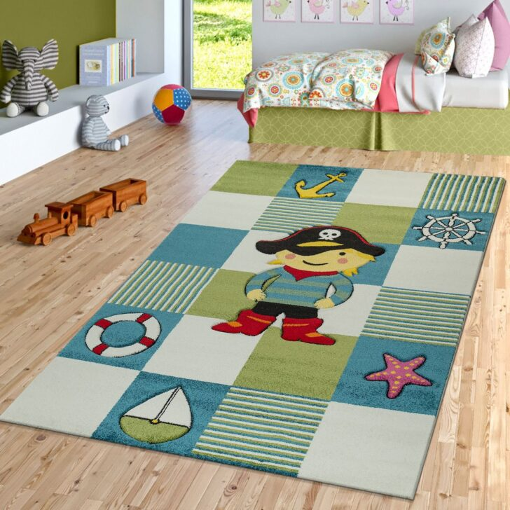 Medium Size of Piraten Kinderzimmer Teppich Look Blau Grn Teppichmax Regal Weiß Regale Sofa Kinderzimmer Piraten Kinderzimmer