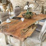 Esstische Massivholz Esstische Esstische Massivholz Esstisch Aus Einem Baumstamm 200 Cm Der Tischonkel Betten Design Massiv Rund Massivholzküche Holz Designer Regal Schlafzimmer Komplett