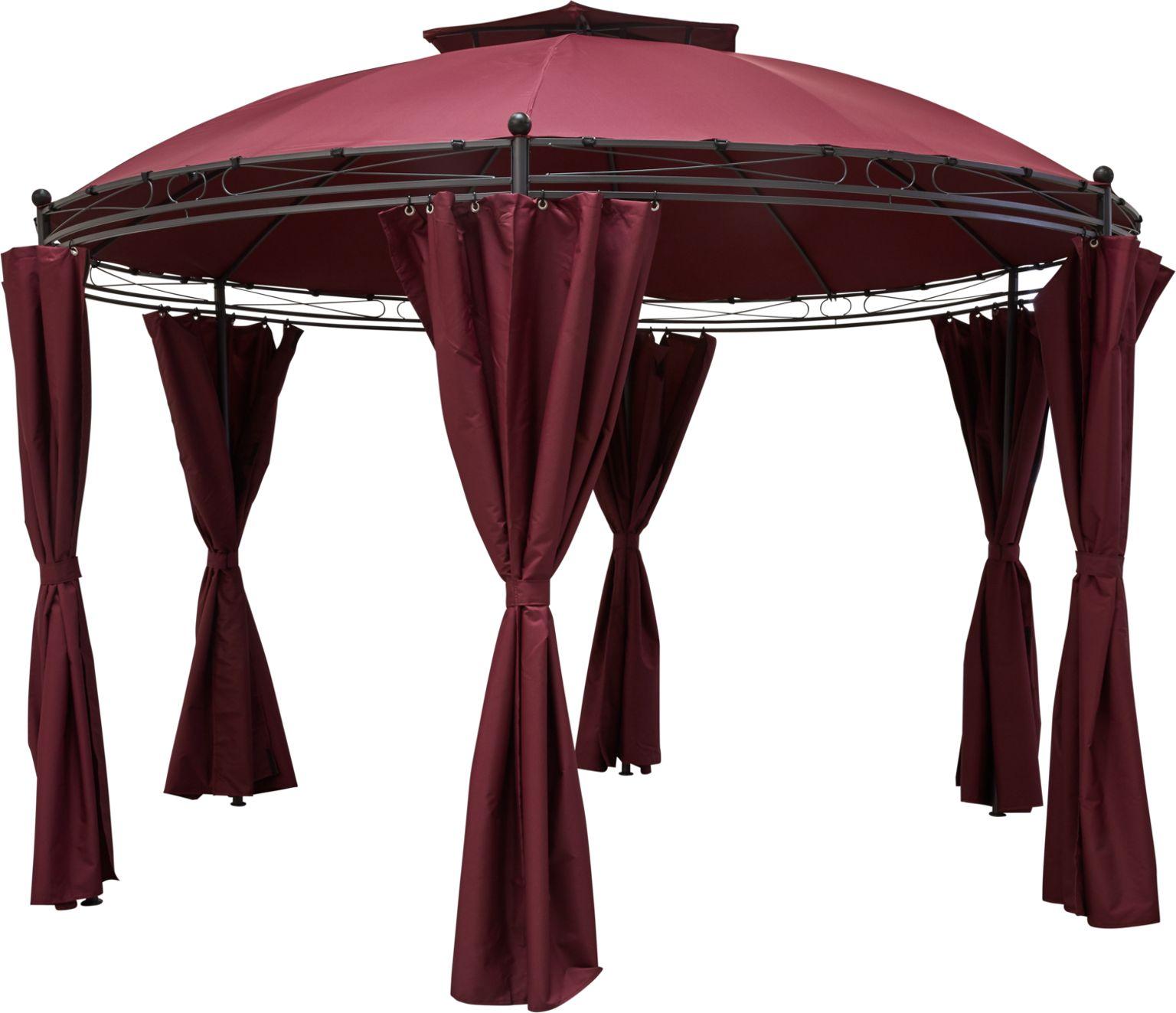 Full Size of Pavillon Metall Rund 4 M 4m Glas Klein Holz Geschlossen 6m Ersatzdach Mit Dach 3 5m Wasserdicht Kaufen Durchmesser Gebraucht Pavillion 200 Cm 3m Mood Serena Wohnzimmer Pavillon Rund