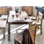 Holz Esstisch Malm Recyceltes Esstische Esszimmer Wohnen Weiß Oval Runder Massivholz Regal Massivholzküche Garten Loungemöbel Schlafzimmer Ausziehbar Esstische Holz Esstisch