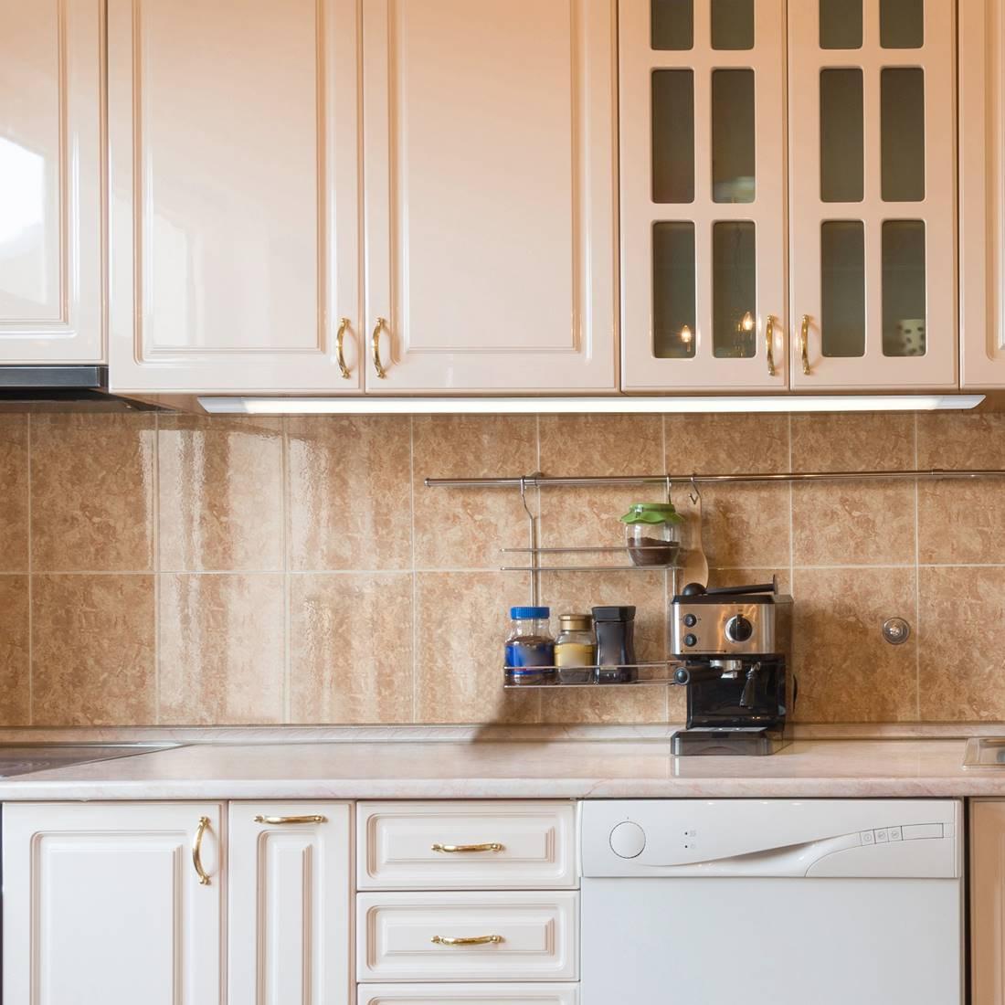 Full Size of Küchenleuchte Kchenleuchte Led Batten Light Kunststoff Wei L2 Wohnzimmer Küchenleuchte