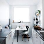 Kleine Küchen Ideen Wohnzimmer Kleine Kche Mit Essplatz Planen Und Gestalten Inspirierende Ideen Kleiner Tisch Küche Einrichten Kleines Regal Einbauküche Wohnzimmer Tapeten Weiß Bad Sofa