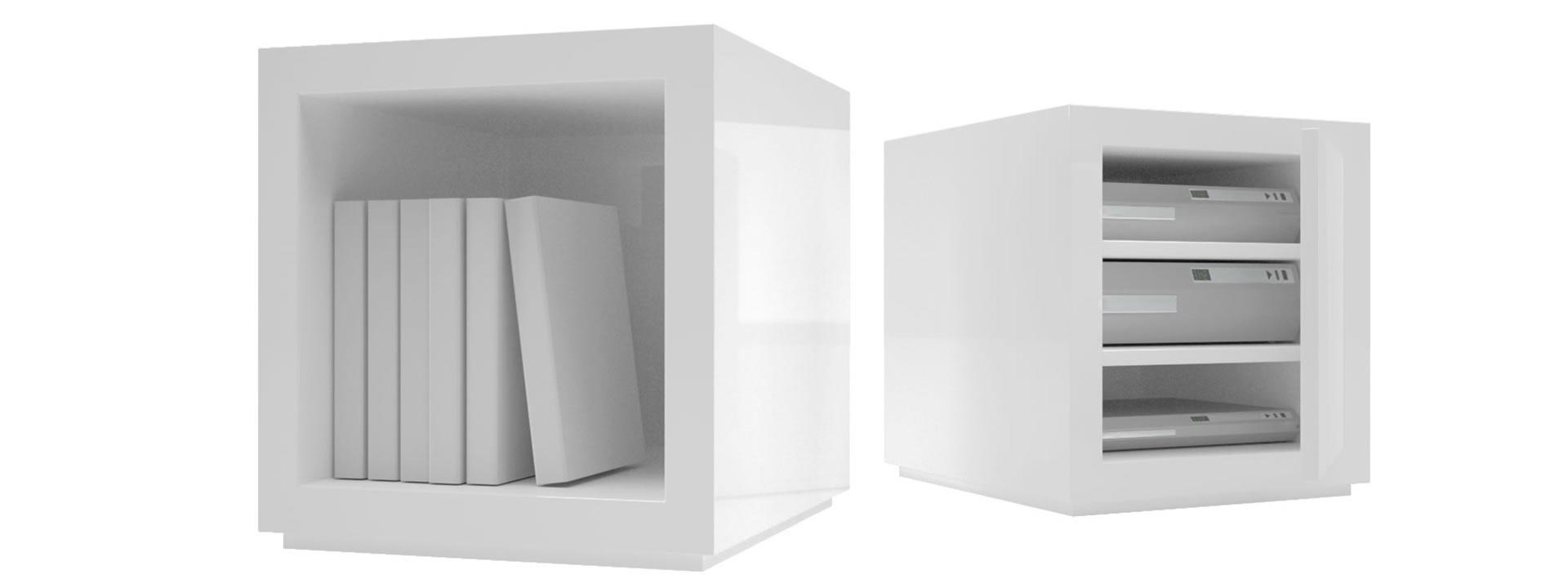 Full Size of Regal Weiß Hochglanz Regalsystem Lectulus Quadratische Design Wrfel Von Auf Maß Günstig Wohnzimmer Vitrine Bett 100x200 Tv Kinderzimmer Fächer Cd Dvd Regal Regal Weiß Hochglanz