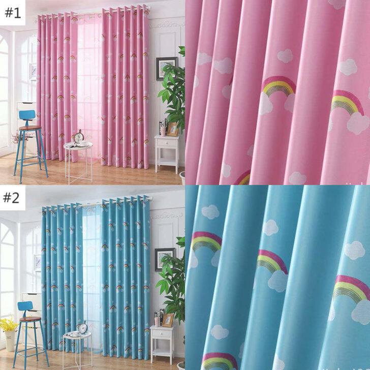 Medium Size of Vorhang Cartoon Regenbogen Fr Pink Oder Blau Regal Regale Bad Sofa Weiß Küche Kinderzimmer Kinderzimmer Vorhang