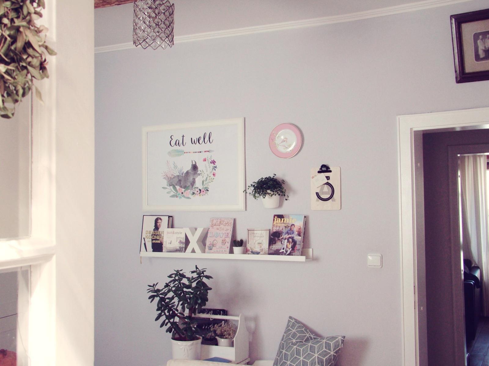 Full Size of Projekt Kchenwand Wie Ein Deko Newbie Den Frhling Ins Haus Wohnzimmer Küchenwand