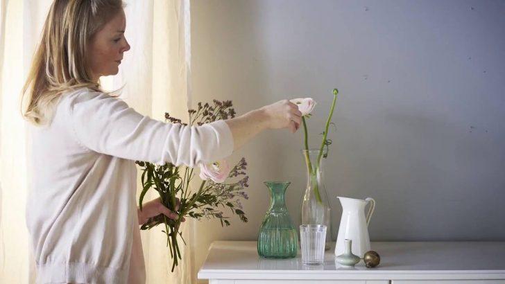 Medium Size of Fensterbank Dekorieren Ikea Geheimtipps Einer Einrichterin Mit Vasen Youtube Wohnzimmer Fensterbank Dekorieren
