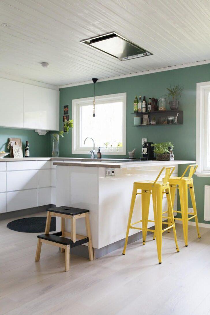 Medium Size of Petrolfarbe Trendfarbe Zum Einrichten In 2020 Wandfarbe Küche Zusammenstellen Spülbecken Rolladenschrank U Form Fliesenspiegel Selber Machen Einbauküche Wohnzimmer Wandgestaltung Küche
