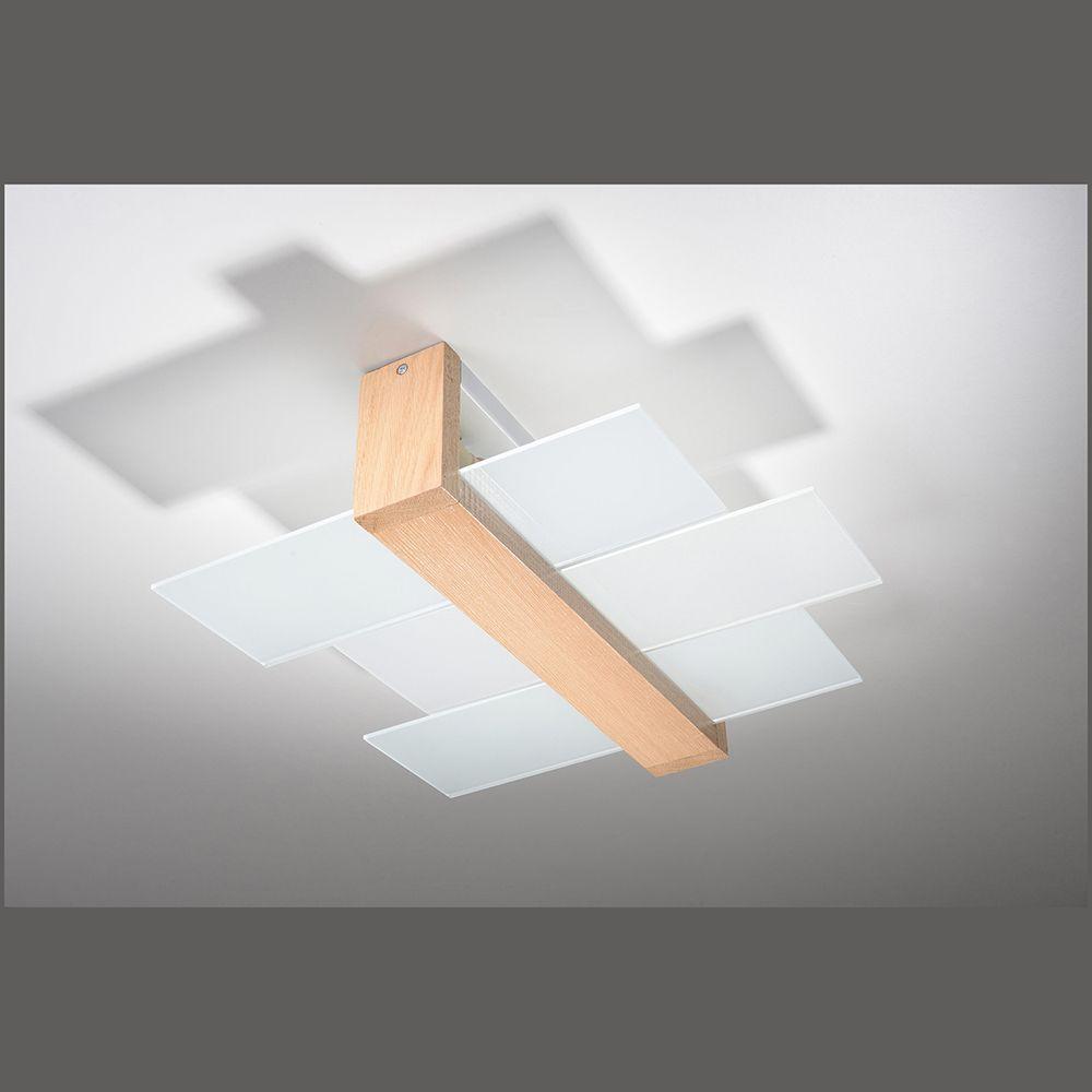 Full Size of Deckenleuchte Modern Mit Holzoptik Und Einer Lnge Von 43 Cm Modernes Sofa Deckenleuchten Küche Moderne Wohnzimmer Landhausküche Schlafzimmer Deckenlampen Wohnzimmer Deckenleuchte Modern