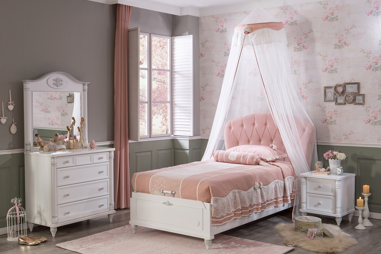 Full Size of Stauraumbett 100x200 Mdchen Romantic Online Kaufen Furnart Bett Mädchen Betten Wohnzimmer Kinderbett Mädchen