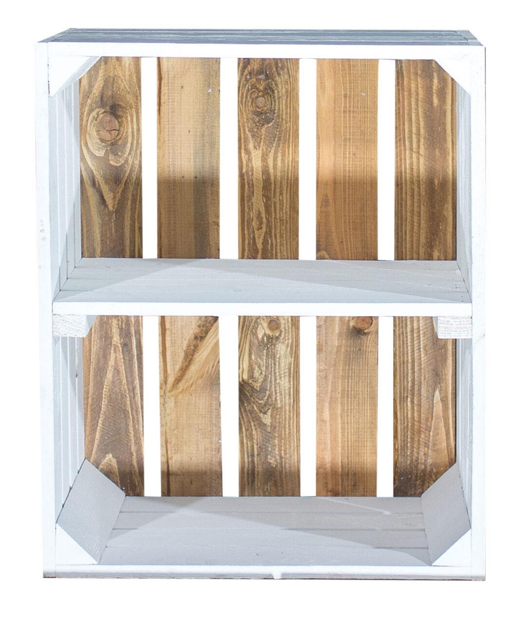 Large Size of Regal Kisten System Aus Holzkisten Selber Bauen Ikea Basteln Holz Kaufen Regale Bauanleitung Farbige Weies Apfelkiste Weier Boden 50x40x30cm Rausfallschutz Regal Regal Aus Kisten