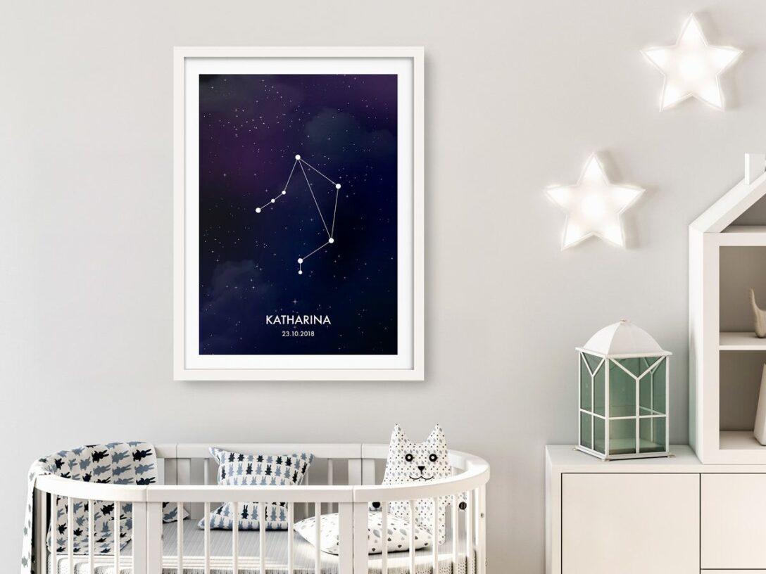 Large Size of Sternzeichen Waage Poster Personalisierbar Sofa Kinderzimmer Regal Regale Weiß Kinderzimmer Sternenhimmel Kinderzimmer