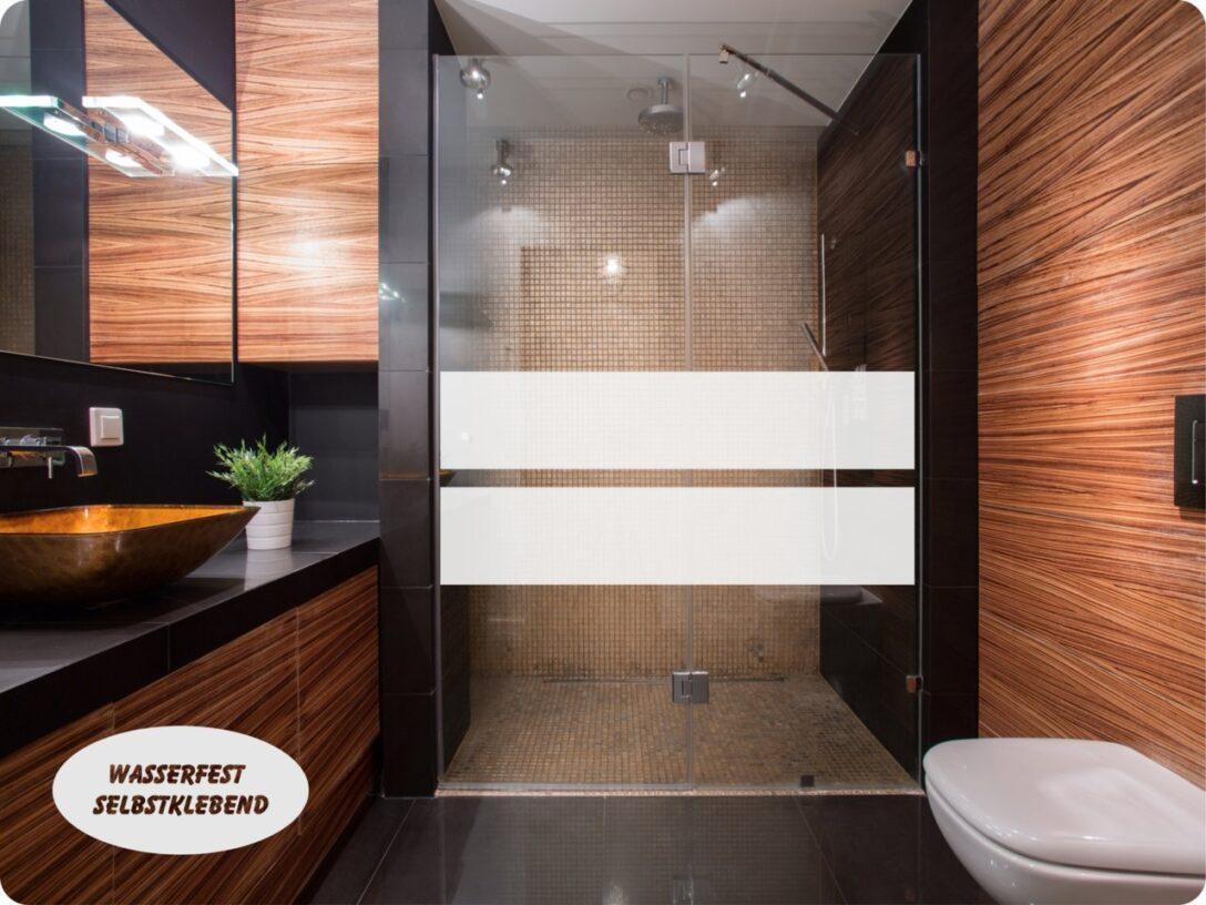 Large Size of Dusche Wand Aufkleber Glasdekor Sichtschutz 022b 2 Streifen Folie Bad Einhebelmischer Wandtattoo Schlafzimmer Sprüche Begehbare Wandbilder Wandfliesen Dusche Dusche Wand