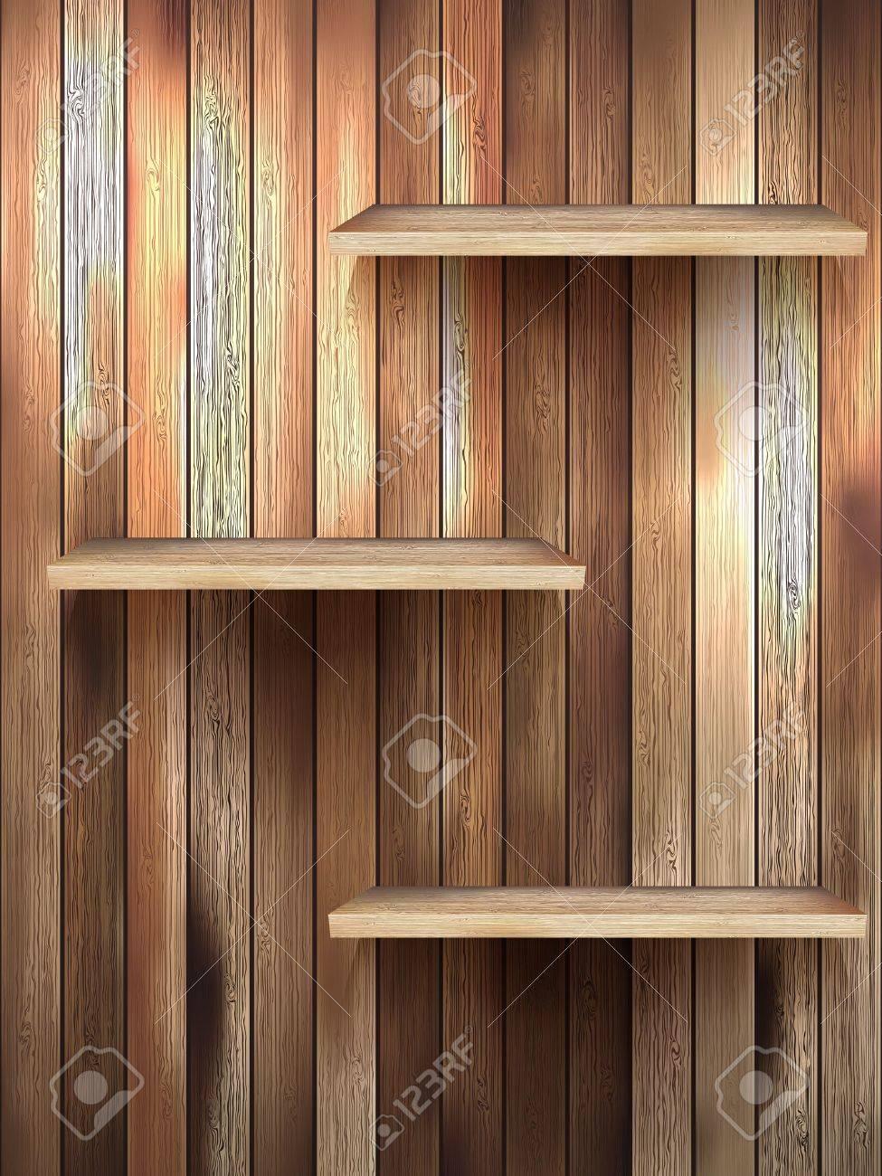 Full Size of Regal Holz Isoliert 3d Leere Fr Ausstellung Lizenzfrei Nutzbare Werkstatt Aus Kisten Offenes Holzofen Küche Dachschräge Kolonialstil Regale Europaletten Cd Regal Regal Holz