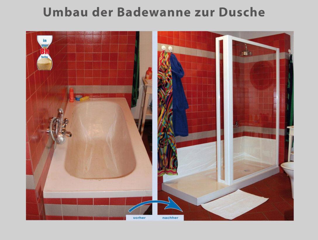 Large Size of Wanne Zur Dusche Badewanne Raus Rein Bad Fliesen Für Neues Kosten Ebenerdige Neue Fenster Badezimmer Einbauen Rainshower Mit Tür Und Grohe Thermostat Dusche Ebenerdige Dusche Kosten