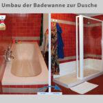 Wanne Zur Dusche Badewanne Raus Rein Bad Fliesen Für Neues Kosten Ebenerdige Neue Fenster Badezimmer Einbauen Rainshower Mit Tür Und Grohe Thermostat Dusche Ebenerdige Dusche Kosten