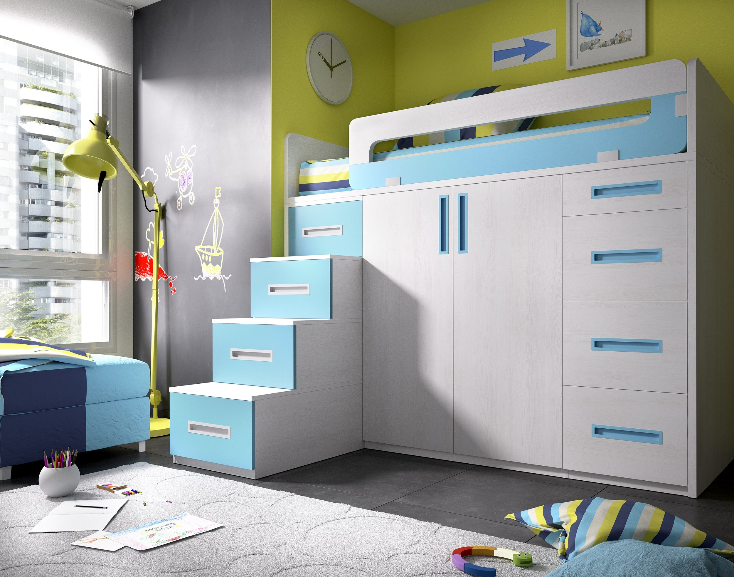Full Size of Hochbett Kinderzimmer Jump 322 Und Jugendzimmer Sets Regal Weiß Sofa Regale Kinderzimmer Kinderzimmer Hochbett
