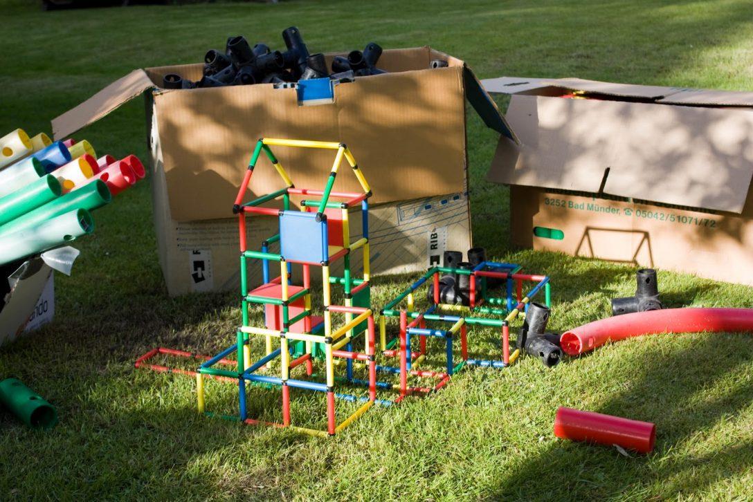 Large Size of Familie Blankenburg Baut In Nienhagen Es Ist Vollendet Wirklich Klettergerüst Garten Wohnzimmer Quadro Klettergerüst
