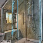 Glaswand Dusche Dusche Dusche Motiv Glasdekor Kristhal Dusch Baddesign Haltegriff Bodengleiche Duschen Kleine Bäder Mit Einbauen Wand Unterputz Armatur Eckeinstieg Begehbare