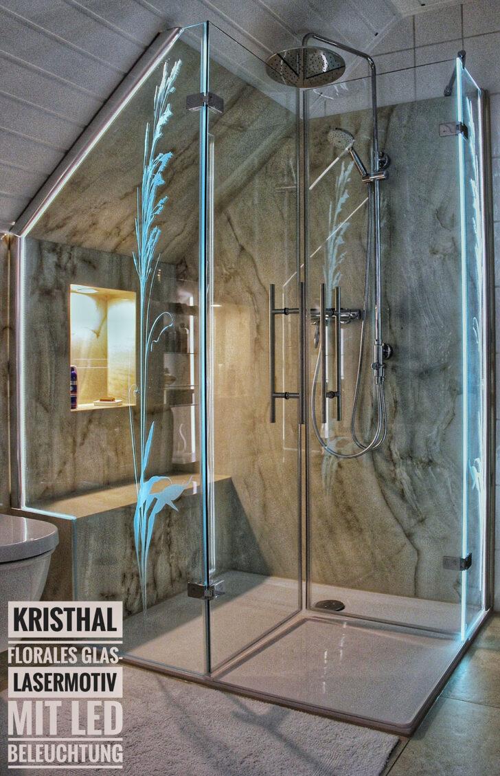 Medium Size of Dusche Motiv Glasdekor Kristhal Dusch Baddesign Haltegriff Bodengleiche Duschen Kleine Bäder Mit Einbauen Wand Unterputz Armatur Eckeinstieg Begehbare Dusche Glaswand Dusche