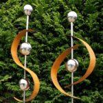 Gartendeko Modern Wohnzimmer Gartendeko Modern Pinterest Online Moderne Kaufen Skulpturen Rost Selber Machen Metall Edelstahl Art 2er Set Gartenstecker Edelrost M Kugel Bett Design