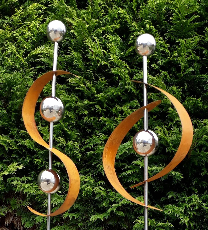 Full Size of Gartendeko Modern Pinterest Online Moderne Kaufen Skulpturen Rost Selber Machen Metall Edelstahl Art 2er Set Gartenstecker Edelrost M Kugel Bett Design Wohnzimmer Gartendeko Modern