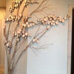 Diy Holzscheibentisch Wanddeko Ideen Wohnzimmer Tapeten Bad Renovieren Küche Wohnzimmer Wanddeko Ideen