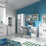 Sunny Jugendzimmer Kinderzimmer 3 Teilig Komplett Wei Blau Günstige Betten Bett Kaufen Günstig Badezimmer Sofa Regal Weiß Regale Günstiges Komplettes Kinderzimmer Kinderzimmer Komplett Günstig