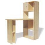 Regal Tisch Kombination Vidaxl Schreibtisch Winkelschreibtisch Pc Mit Türen Esstisch Glas Wohnzimmer Weiß Hochglanz Grau Kleines Schubladen Ohne Rückwand Regal Regal Tisch Kombination