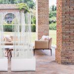 Paravent Terrasse Wohnzimmer Terrassenabtrennung Sichtschutz Fr Balkon Und Terrasse Raumteiler Garten Paravent