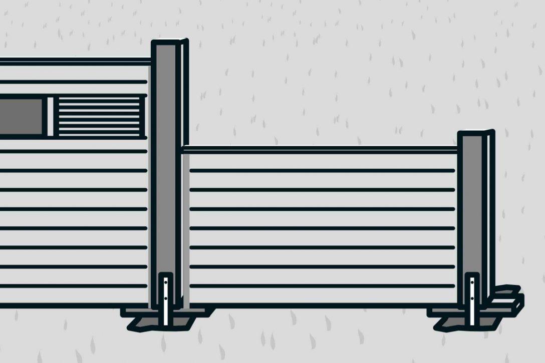 Large Size of Hornbach Sichtschutz Bauen Mit Zaunsystem Anleitung Von Sichtschutzfolien Für Fenster Sichtschutzfolie Einseitig Durchsichtig Garten Holz Im Wpc Wohnzimmer Hornbach Sichtschutz