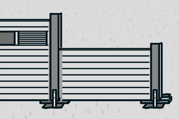 Medium Size of Hornbach Sichtschutz Bauen Mit Zaunsystem Anleitung Von Sichtschutzfolien Für Fenster Sichtschutzfolie Einseitig Durchsichtig Garten Holz Im Wpc Wohnzimmer Hornbach Sichtschutz