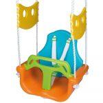Happy People Babyschaukel Orange 3in1 Schaukel Babysitz Kinderspielturm Garten Konzentrationsschwäche Bei Schulkindern Kinder Spielküche Kinderhaus Wohnzimmer Gartenschaukel Kinder