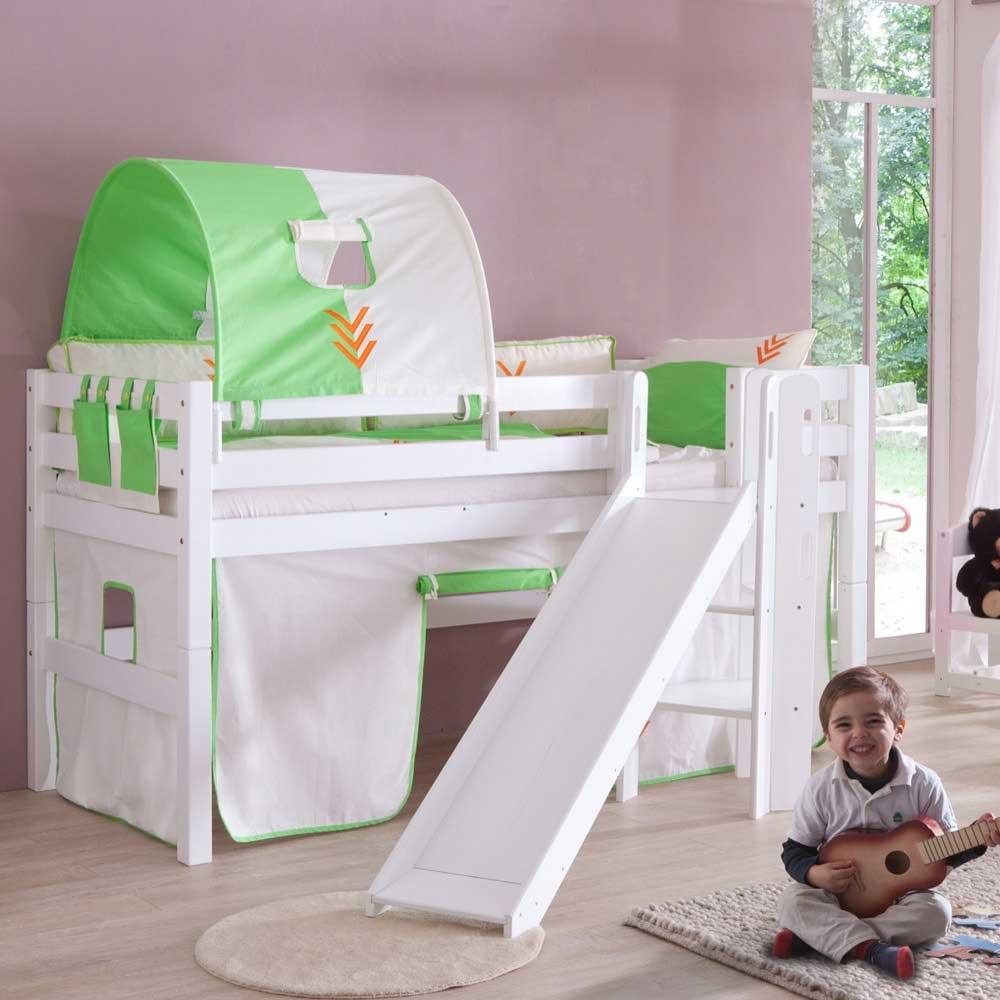 Full Size of Kinderzimmer Hochbett Fredia In Wei Mit Rutsche Wohnende Regal Weiß Sofa Regale Kinderzimmer Kinderzimmer Hochbett