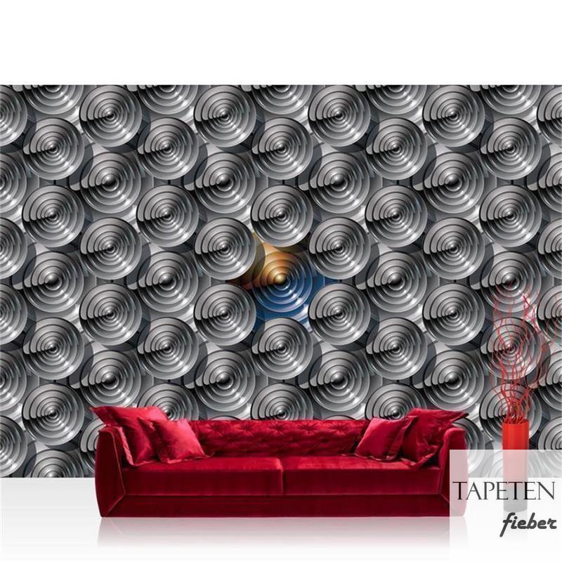 Full Size of 3d Tapete Vlies Fototapete No 1371 Spiralen Kreise Abstrakt Wohnzimmer Fototapeten Tapeten Ideen Fenster Für Die Küche Modern Schlafzimmer Wohnzimmer 3d Tapete