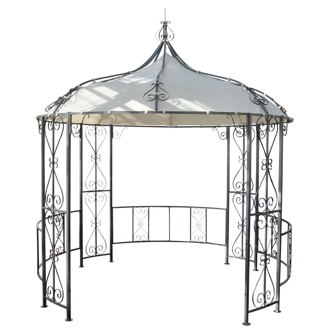 Full Size of Pavillon Rund Holz Selber Bauen Ersatzdach 3 5m Glasdach 4m Metall 6m Kaufen 3m Pergola Almeria Marokko Rundreise Und Baden Runder Esstisch Garten Halbrundes Wohnzimmer Pavillon Rund