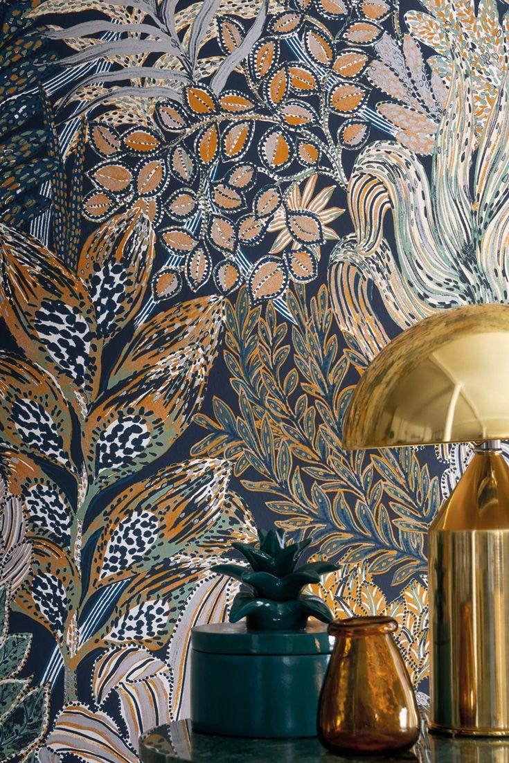 Full Size of Tapeten Trends 2020 Wohnzimmer Tapete Blossom Blau In Home Wallpaper Vorhang Schrankwand Deckenleuchte Fototapeten Deckenlampen Decken Vorhänge Gardine Wohnzimmer Tapeten Trends 2020 Wohnzimmer