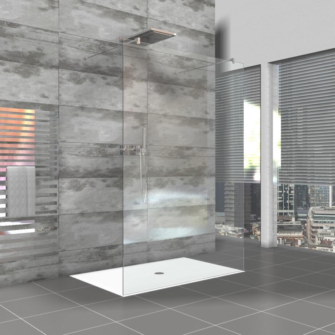 Large Size of Rahmenlose Duschwand Walk In Dusche Als Duschabtrennung Komplett Set Bodengleiche Nachträglich Einbauen Haltegriff Eckeinstieg Siphon Einhebelmischer Dusche Begehbare Dusche