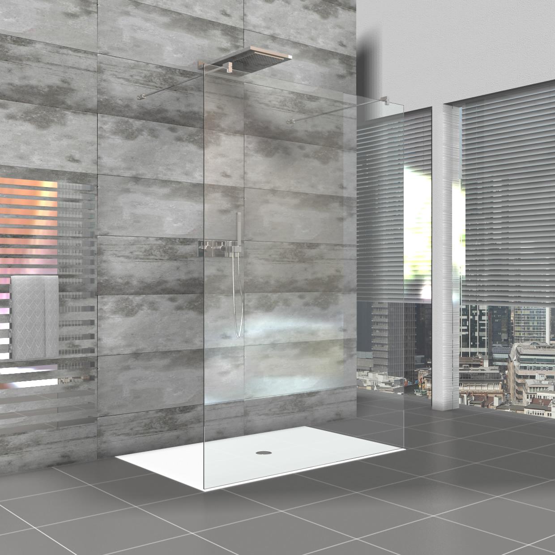 Full Size of Rahmenlose Duschwand Walk In Dusche Als Duschabtrennung Komplett Set Bodengleiche Nachträglich Einbauen Haltegriff Eckeinstieg Siphon Einhebelmischer Dusche Begehbare Dusche