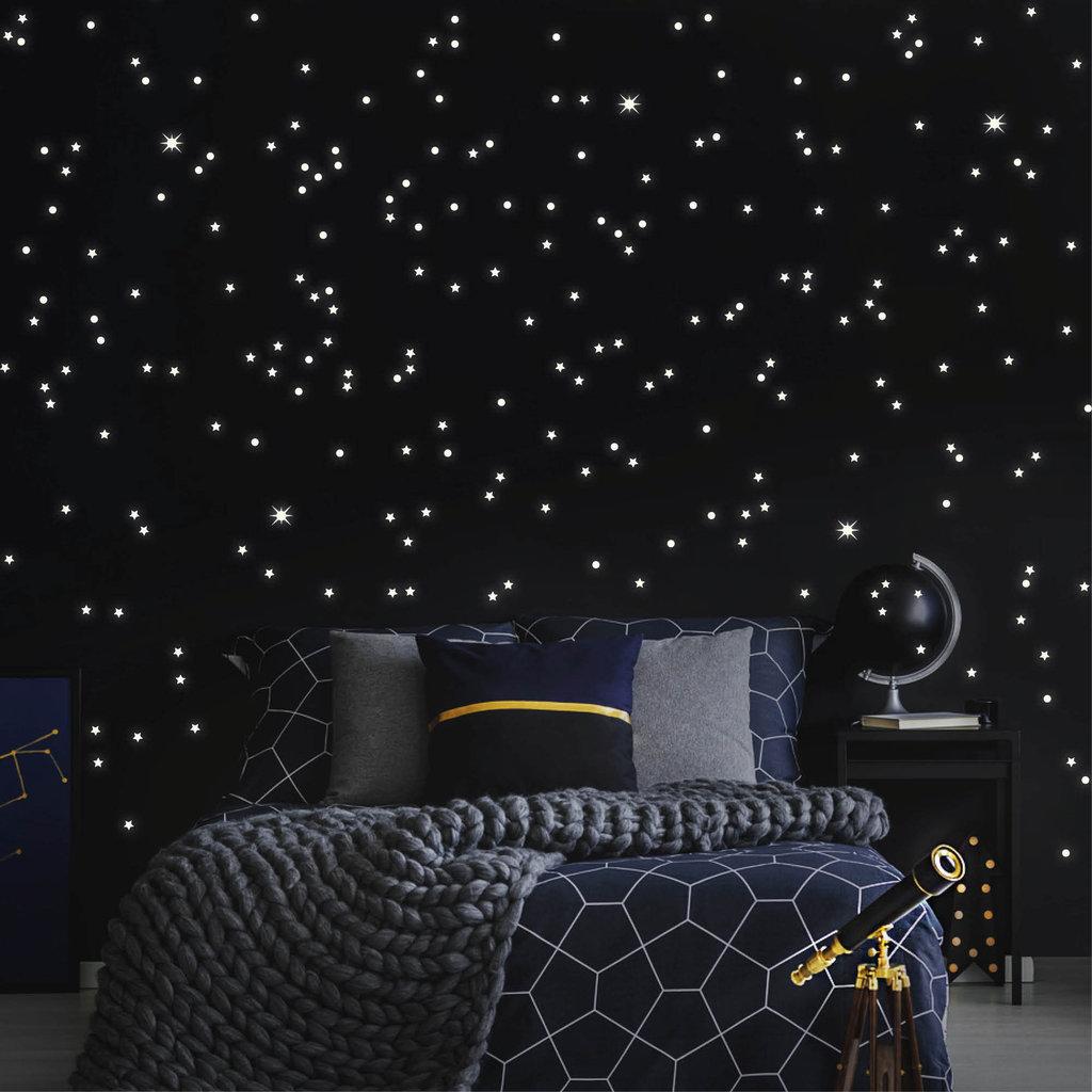 Full Size of Sternenhimmel Kinderzimmer Baumarkt Fluoreszierend Wandtattoo Loft 40 Stck Nachtleuchtende Regal Sofa Weiß Regale Kinderzimmer Sternenhimmel Kinderzimmer