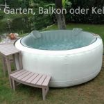 Whirlpool Aufblasbar Fr Garten Balkon Oder Keller Youtube Wohnzimmer Whirlpool Aufblasbar