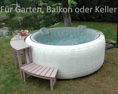 Whirlpool Aufblasbar Wohnzimmer Whirlpool Aufblasbar Fr Garten Balkon Oder Keller Youtube